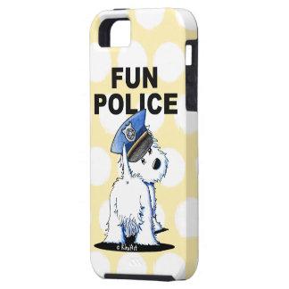 Westie FUN POLICE iPhone 5/5S Case