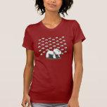 Westie grande, poco Westies Camisetas
