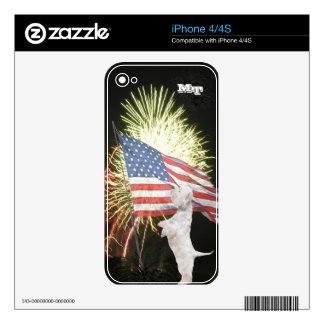 Westie iPhone 4/4S Custom Skin Skin For The iPhone 4