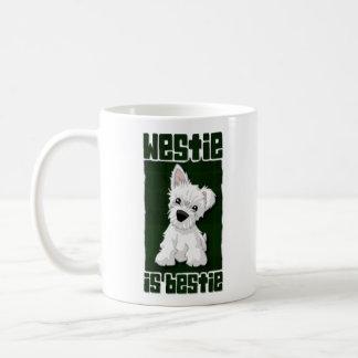 Westie is Bestie Coffee Mug