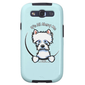 Westie Its All About Me Galaxy S3 Cases