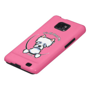 Westie Its All About Me Samsung Galaxy SII Cases