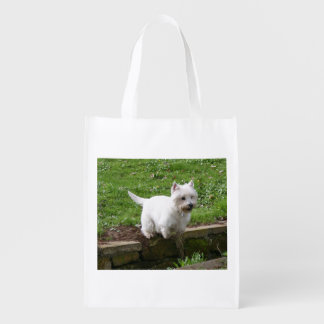 westie jumping.png market tote