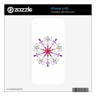 Westie kaleidoscope iPhone 4 skins