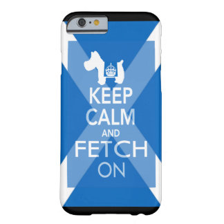 Westie Keep Calm Barely There iPhone 6 Case