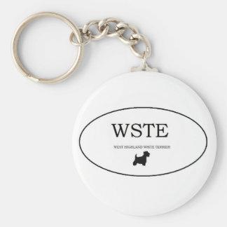 westie keychain
