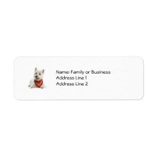 Westie Labels
