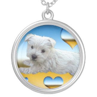Westie Love Necklace