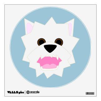 Westie Love Wall Sticker