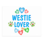 WESTIE LOVER POST CARD