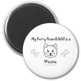 Westie Fridge Magnet