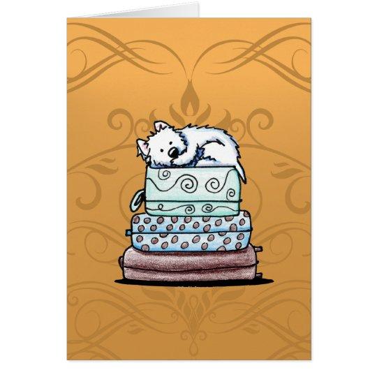 Westie MISS YOU Card