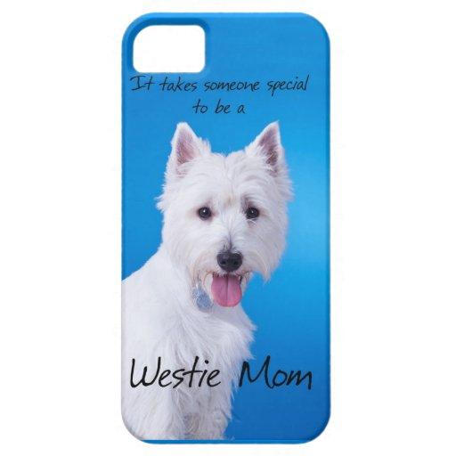 Westie Mom iPhone 5 Case