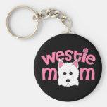 Westie Mom Key Chains
