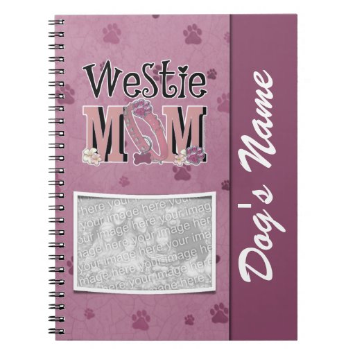 Westie MOM Notebooks