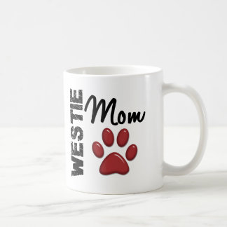 Westie Mom Paw Print 2 Coffee Mug