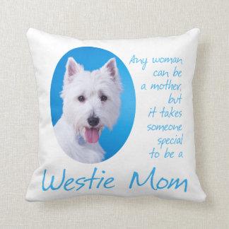 Westie Mom Pillow