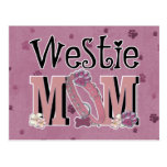 Westie MOM Post Cards