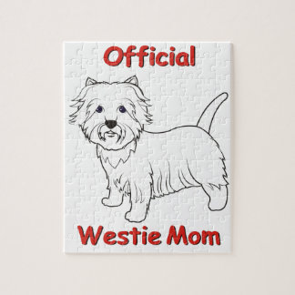 Westie Mom Puzzle