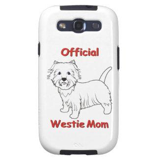 Westie Mom Samsung Galaxy S3 Cover