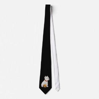 westie neck tie
