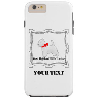 Westie No. 15 Tough iPhone 6 Plus Case