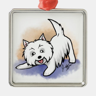 Westie Christmas Ornaments