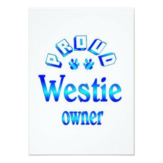 Westie Owner Card