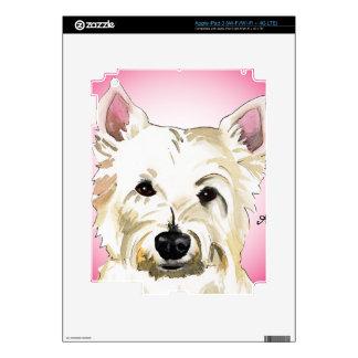 Westie Pegatina Skin Para iPad 3
