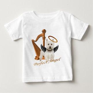 Westie Perfect Angel Baby T-Shirt