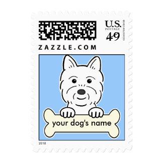 Westie personalizado sello