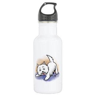Westie 18oz Water Bottle