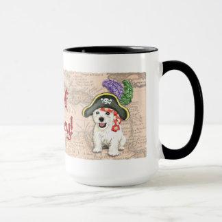 Westie Pirate Mug