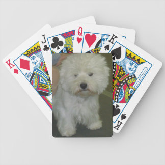 Westie Playing Cards