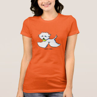 Westie Playtime Off-Leash Art™ T-Shirt