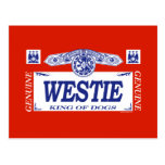Westie Post Card
