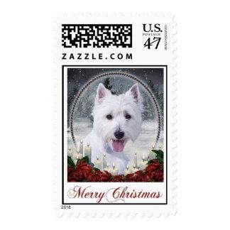 Westie Postage Stamps