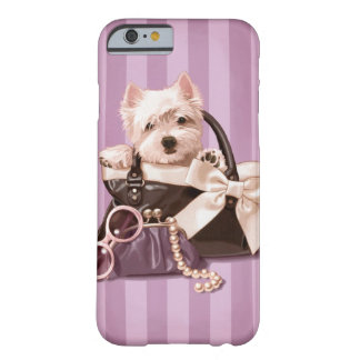 Westie puppy barely there iPhone 6 case