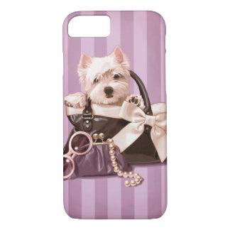 Westie puppy iPhone 8/7 case