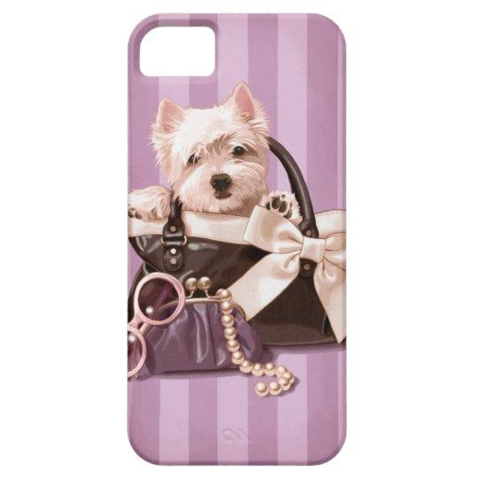 Westie puppy iPhone SE/5/5s case
