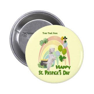 Westie Puppy - Matches Irish Or Not Design Pins