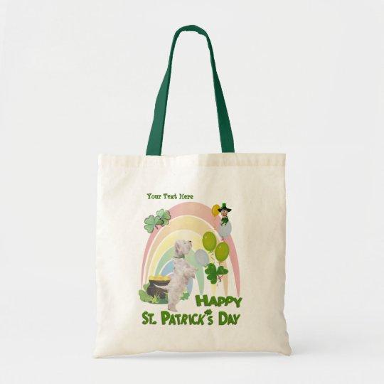 Westie Puppy - Matches Irish Or Not Design Tote Bag