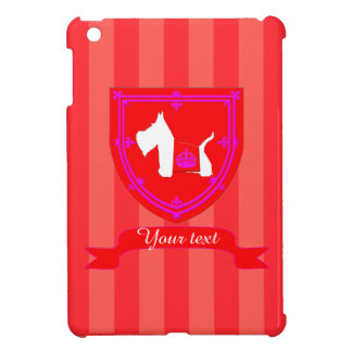 Westie Royal Crown iPad Mini Cases
