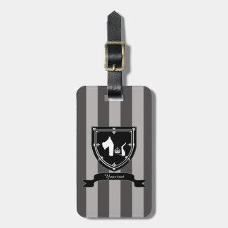 Westie Royal Crown Luggage Tags