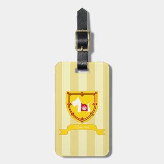 Westie Royal Crown Travel Bag Tags
