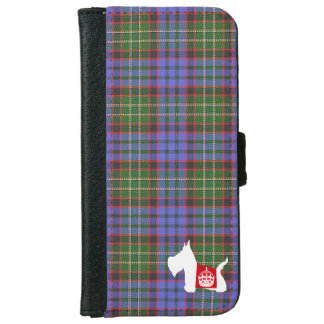 Westie Royal Crown Wallet Phone Case For iPhone 6/6s