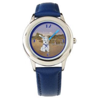 Westie Sailboats Wristwatch