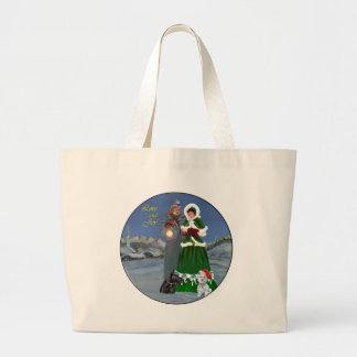 Westie & Scottie Christmas Carols Canvas Bag
