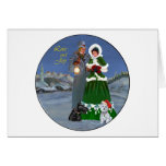 Westie & Scottie Christmas Carols Card