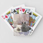 Westie & Scottie Winter Magpie Card Deck